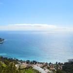 Spots de mouillages vers l'est lors de votre location de bateau Nice